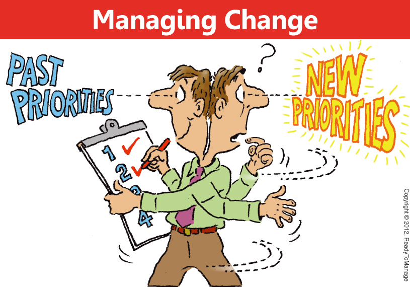 Change Management Cartoon