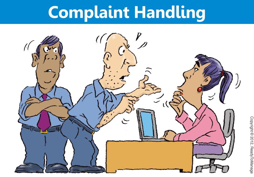 Complaint Handling Cartoon