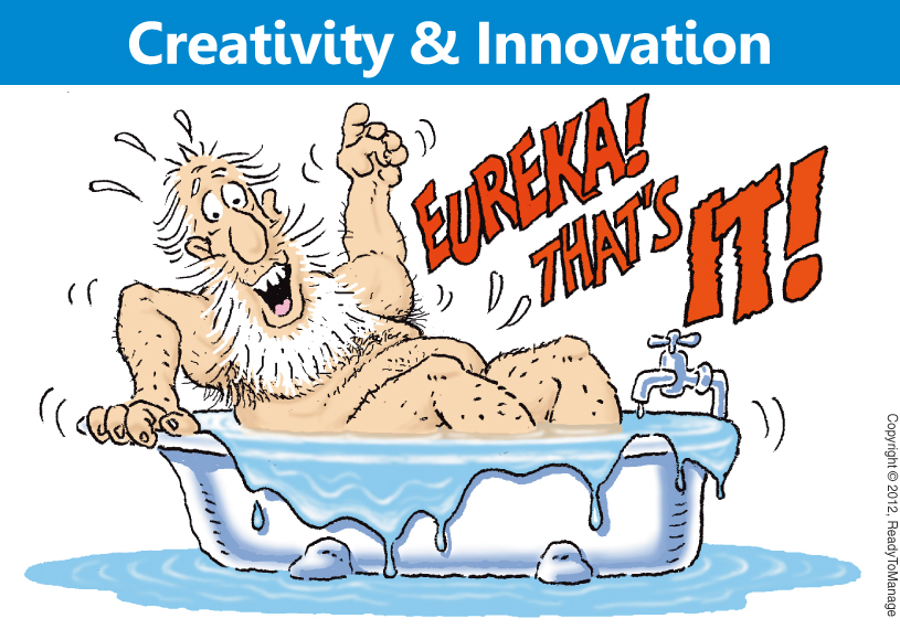 Creativity and Innovation Cartoon