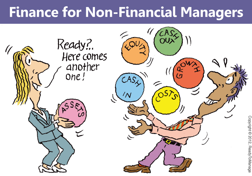 Finance for Non-Financial Managers Cartoon