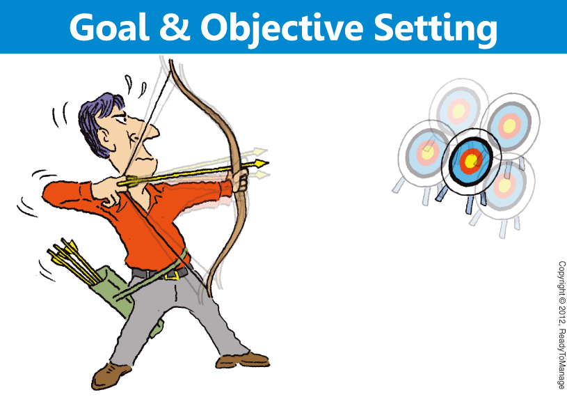 Goal and Objective Setting Cartoon