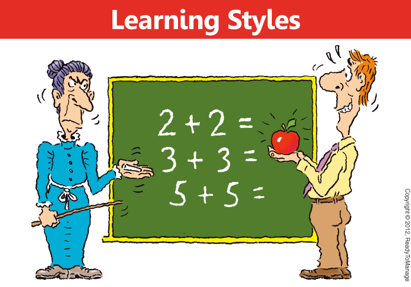 Learning Styles Cartoon