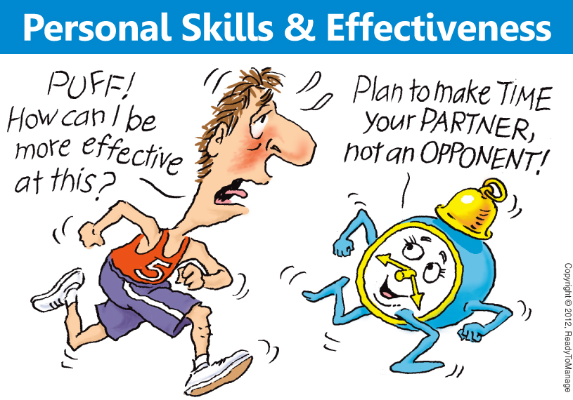 Personal Skills and Effectiveness Cartoon