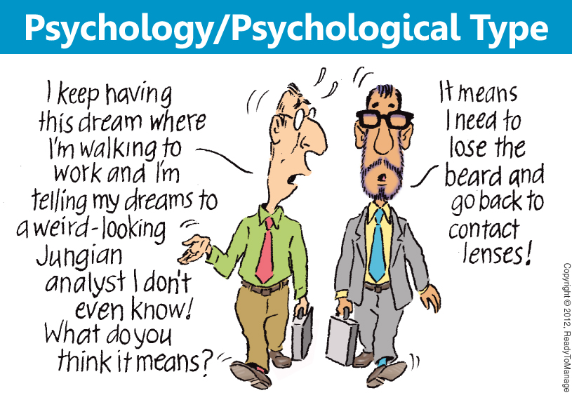 Psychology / Psychological Type Cartoon