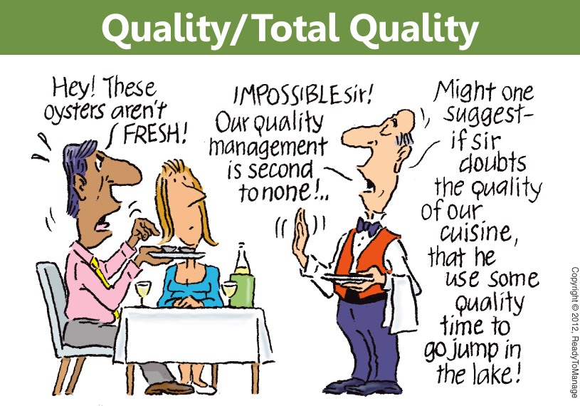 Total Quality Management Cartoon