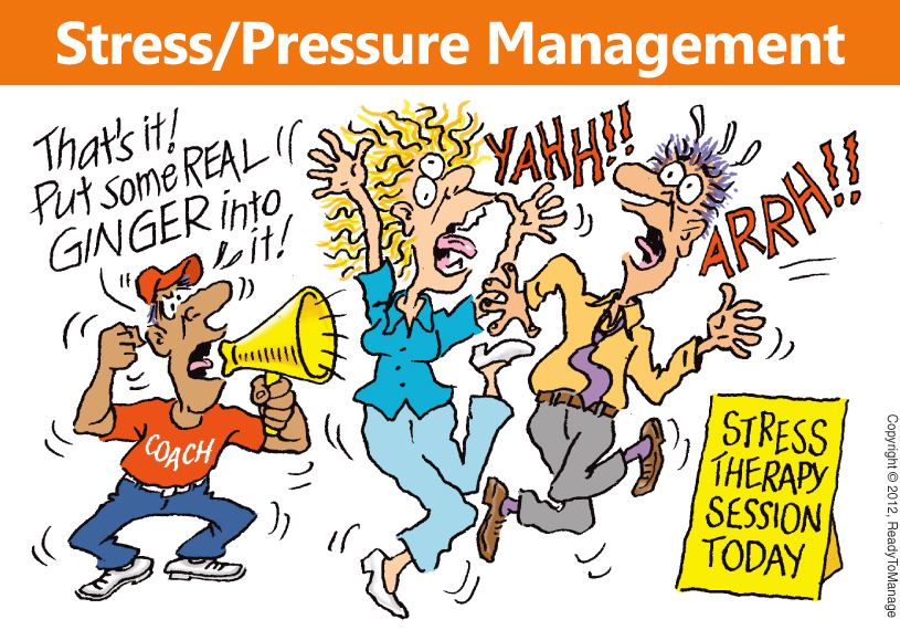 manage stress with visualization