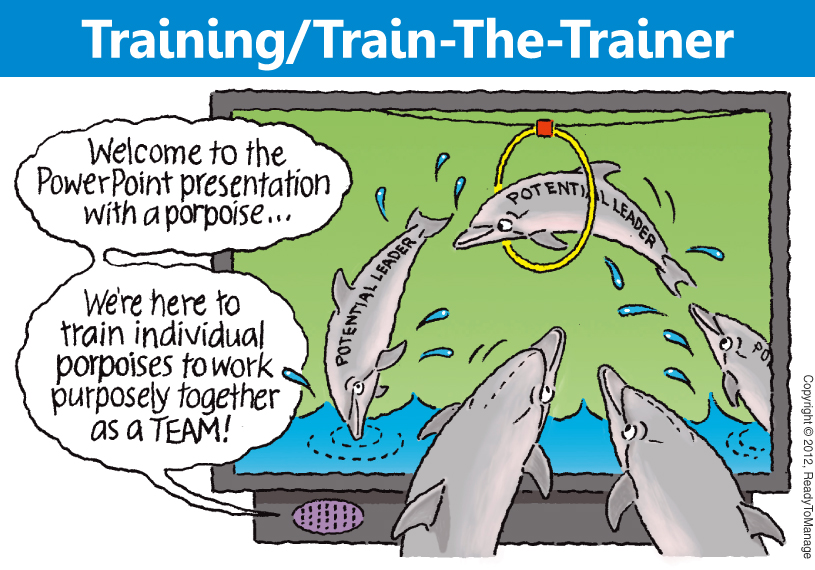 Training / Train-The-Trainer Cartoon