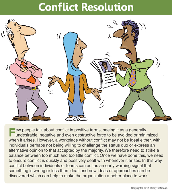 Conflict Cartoon