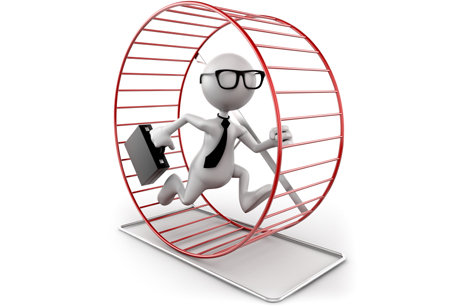 Can Today's Manager Escape the Organization Hamster Wheel?