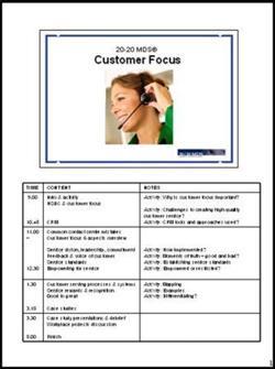 Customer Service PPT