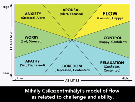 Mihaly Csikszentmihalyi Model of Flow