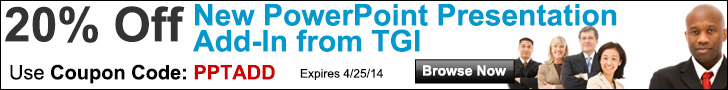 New PowerPoint Presentation Add-In from TGI