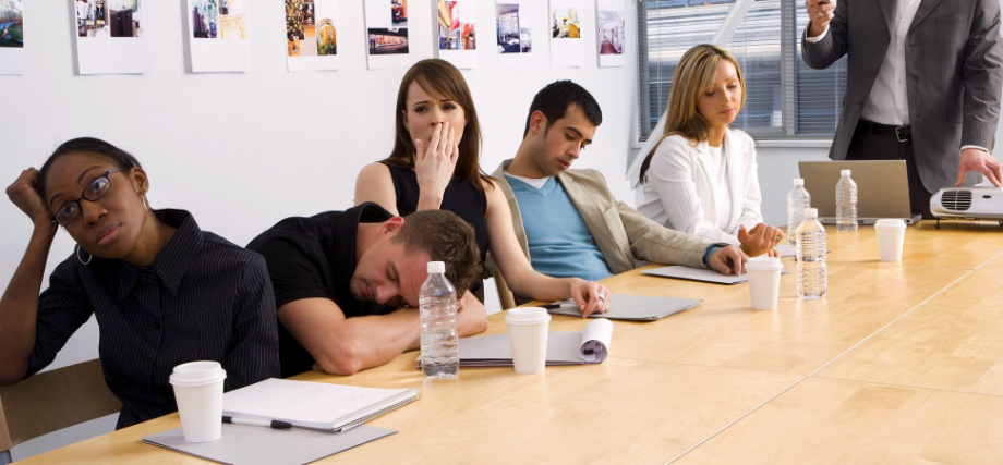 How to Banish Boring Meetings – 13 Top Tips