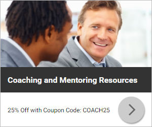 Coaching and Mentoring Resources -25% Off with Coupon Code: COACH25